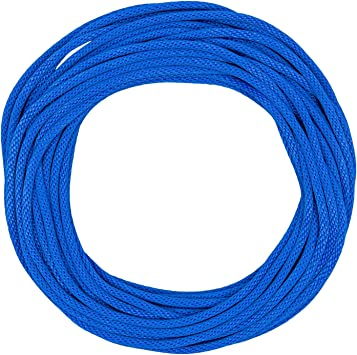 All-Purpose Nylon Cord Anchor Lines SGT KNOTS Double Braid Nylon Rope 50 ft - 300 ft, Black Gardening DIY Projects More Crafting Towing for Mooring Twin Braid 3//8 inch - 5//8 inch