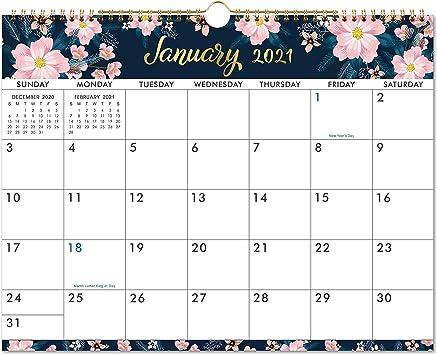 Amazon.: 2021 Calendar   Wall Calendar 2021 with Colorful