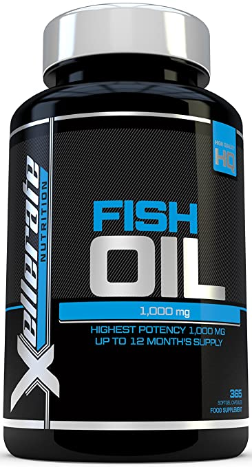 137 opinioni per Omega 3 Olio Di Pesce 1000 mg- 365 Capsule Softgel- Prodotto in UK- Integratore