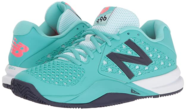 New Balance Damen 996v2 Tennis Shoe, TealNavy, 39 EU
