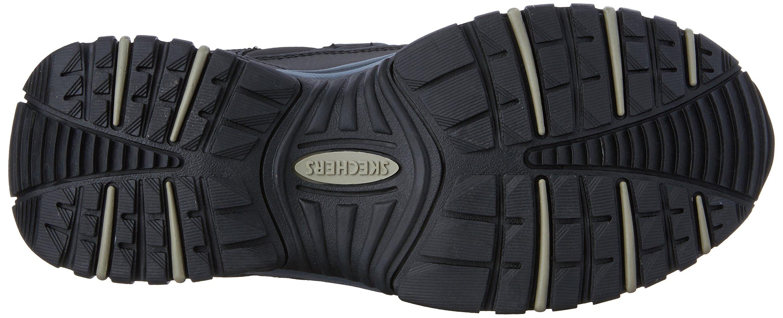 Skechers Men's Energy Afterburn Lace-Up Sneaker,Black/Gray,14 M US by Skechers (Image #3)