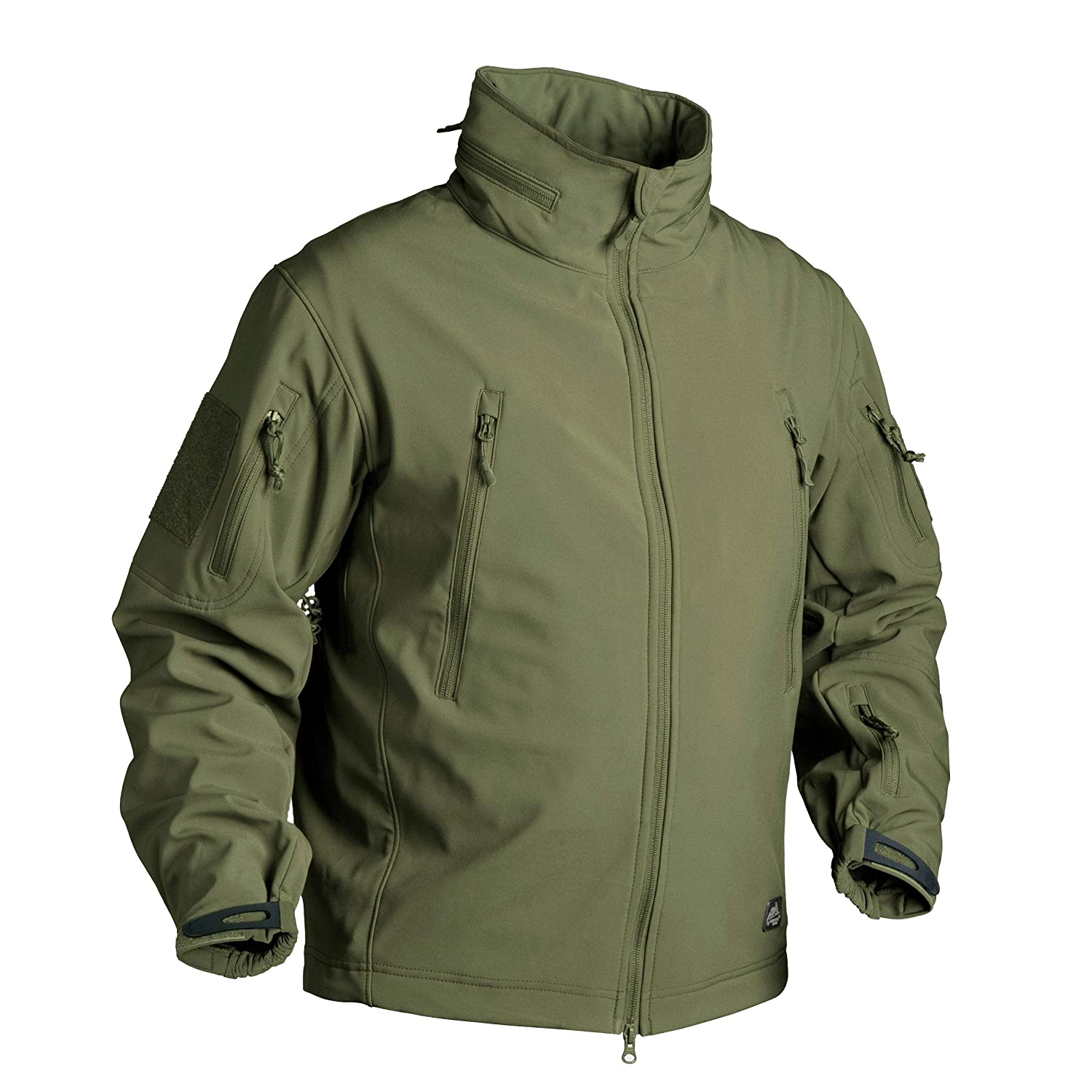 Helikon-Tex Gunfighter Jacke - Shark Skin Windblocker - Olive Grün