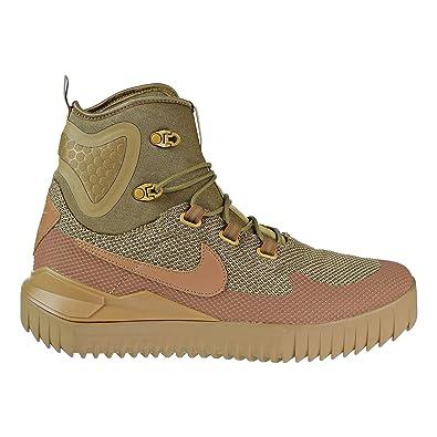 f7da060de78 Nike Men s Air Wild Mid Black Textile Synthetic Sneakers  Amazon.co ...