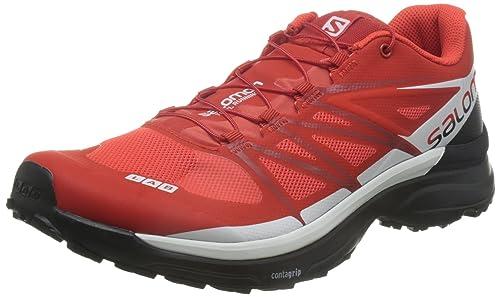 8dd5e86ba71b Salomon S-Lab Wings 8 Trail Running Shoe - Men s Racing Red Black