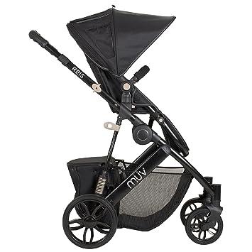 Amazon.com: Universal Muv Reis carriola – Negro Satinado: Baby