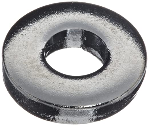 0.078 Nominal Thickness Pack of 25 Steel Flat Washer 0.438 OD 0.188 ID Made in US 3//8 Hole Size