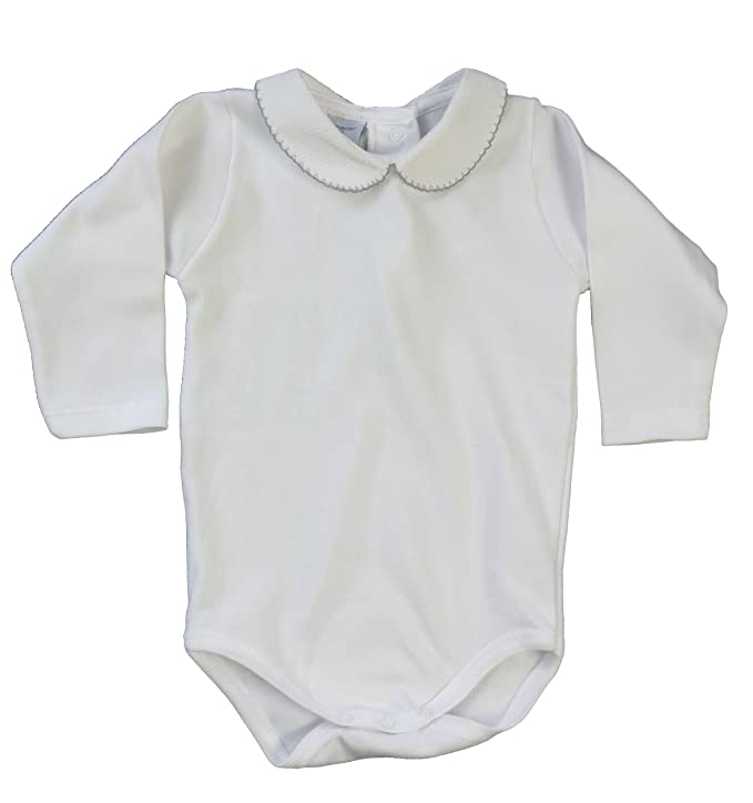 afc9cbb02 BABIDU Baby-Unisex s Body C.Polo Pique Bodysuit  Amazon.co.uk  Clothing