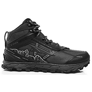 ALTRA Men's ALM1855N Lone Peak 4 Mid RSM Waterproof Trail Running Shoe, Black - 11.5 M US