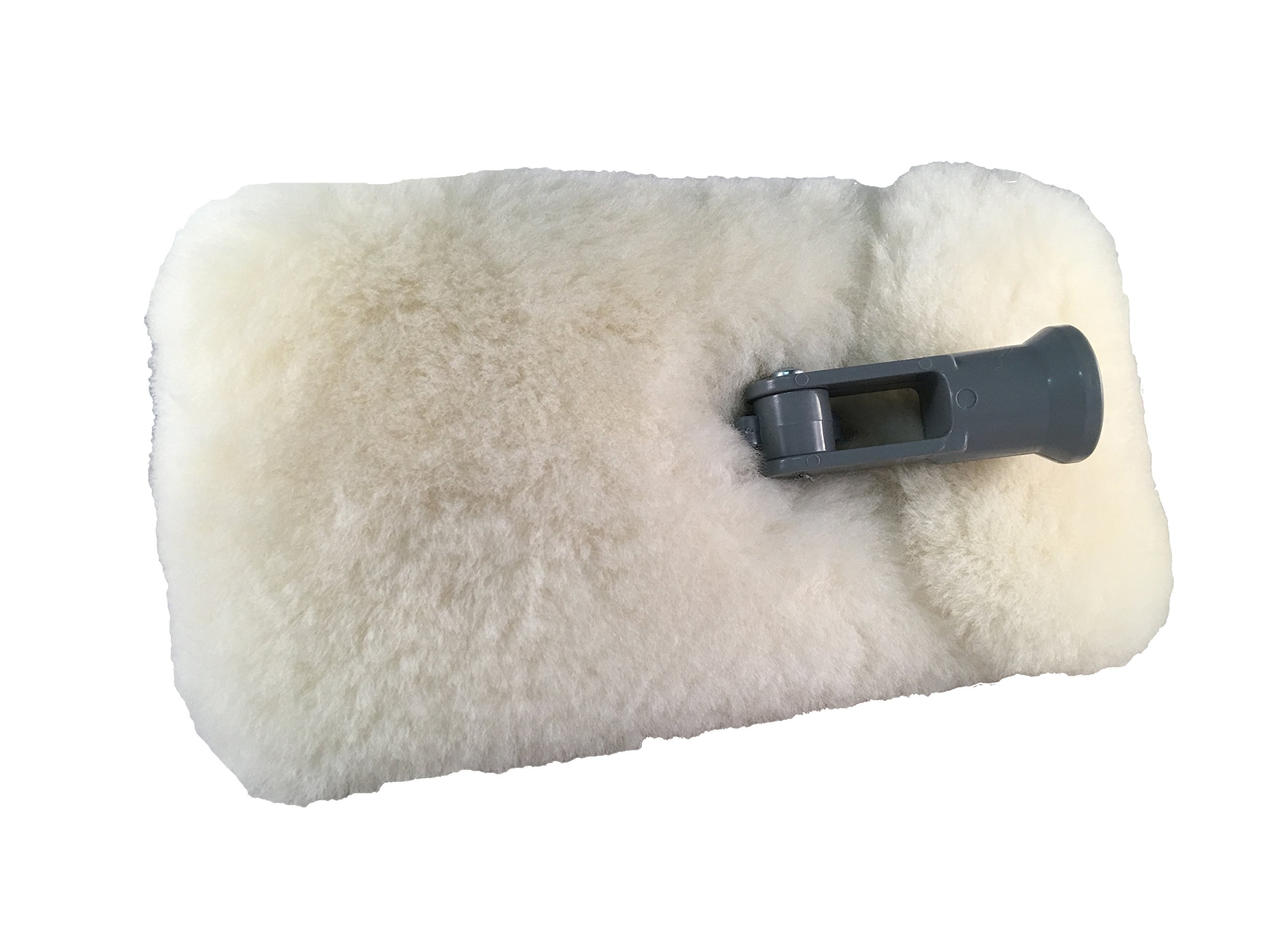 Mary Moppins 9'' Pure 100% Lambswool Wash and Pad Holder