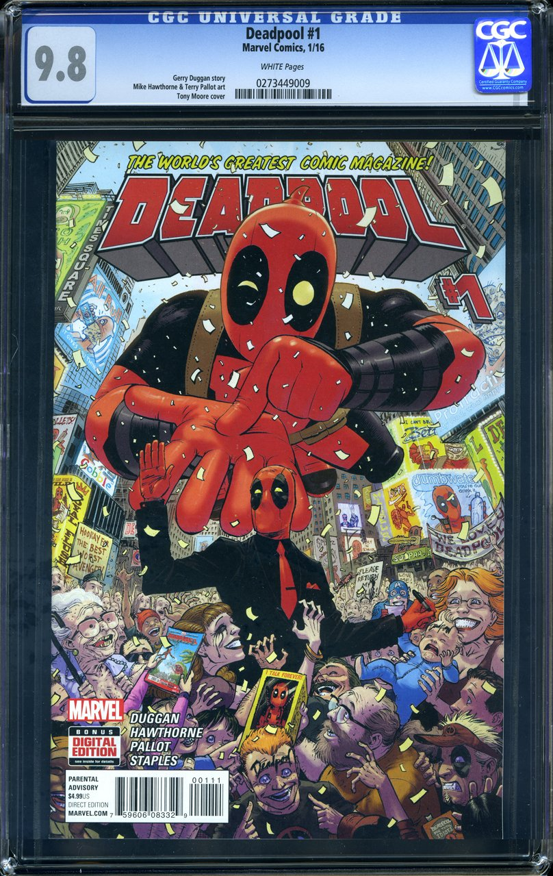 Deadpool #1 - CERTIFIED CGC 9.8