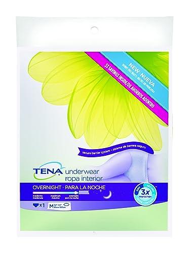 TENA Overnight Womens Underwear, Medium