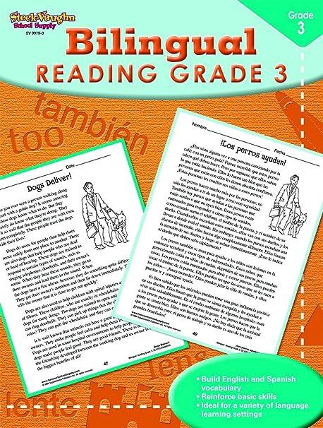 Steck-Vaughn Bilingual: Reproducible Reading Third Grade: STECK ...