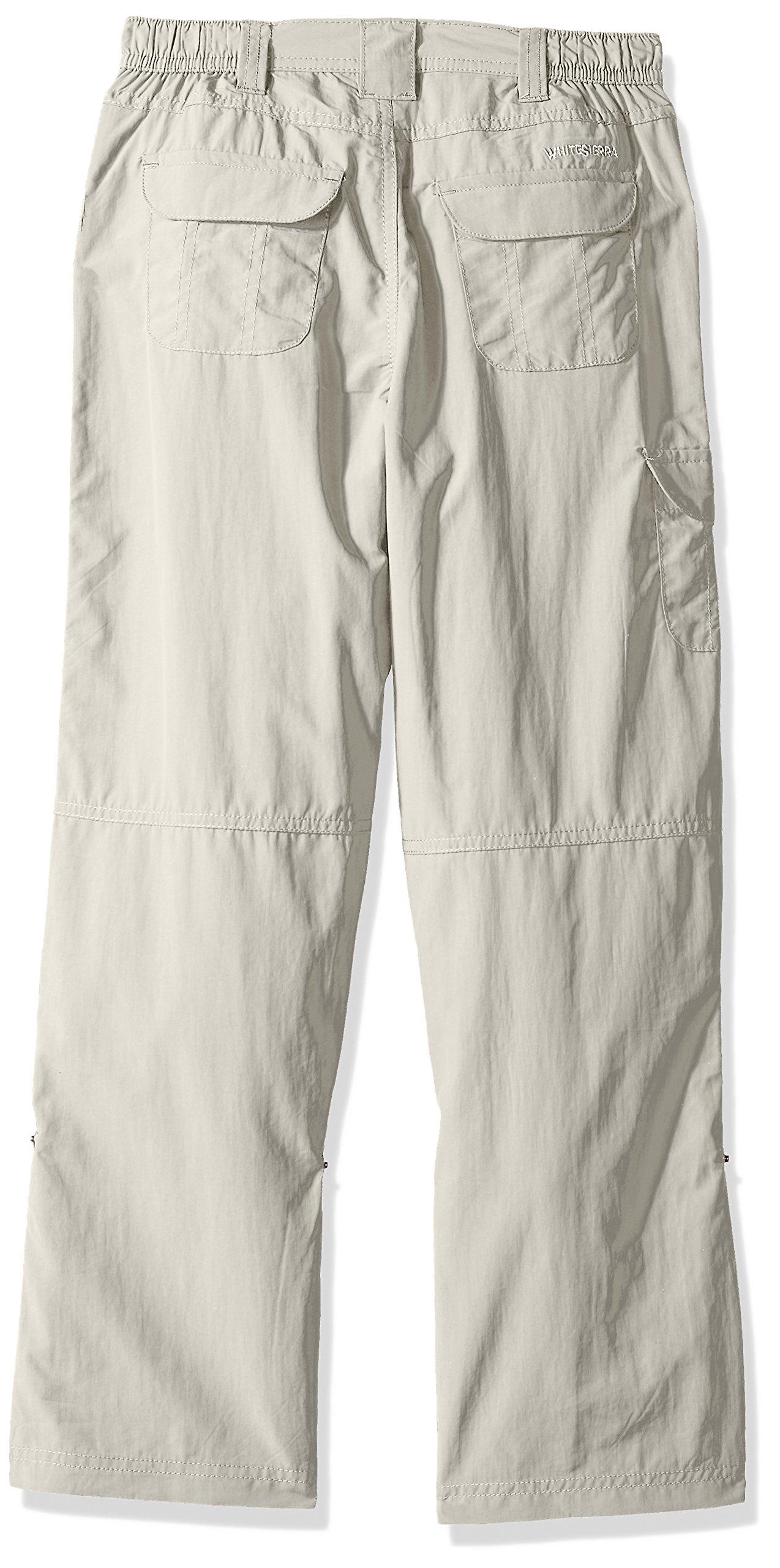 White Sierra Girls Pt. Roll Up Pants, Pale Taupe, Medium by White Sierra (Image #2)