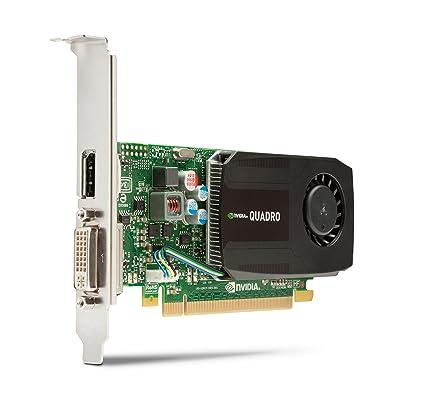 HP nVidia Quadro K600 - Tarjeta gráfica de 1 GB (Quadro K600, GDDR3, 3840x2160, DVI-I)