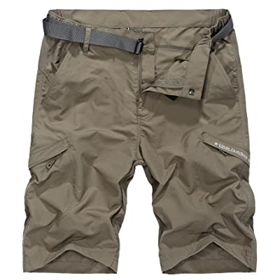 Amazon.com : Vcansion Men's Outdoor Lightweight Hiking Shorts Quick Dry Shorts Sports Casual Shorts : Clothing