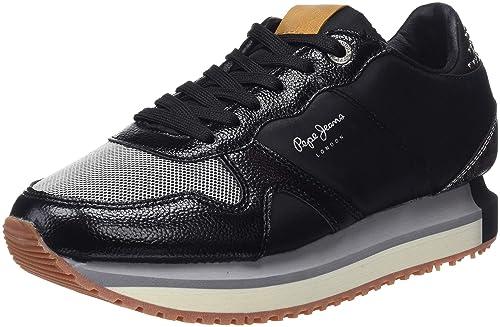 Pepe Jeans Zion Studs, Zapatillas para Mujer: Amazon.es: Zapatos y complementos