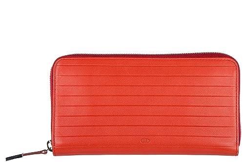 Dior cartera billetera bifold de hombre en piel nuevo rojo ...