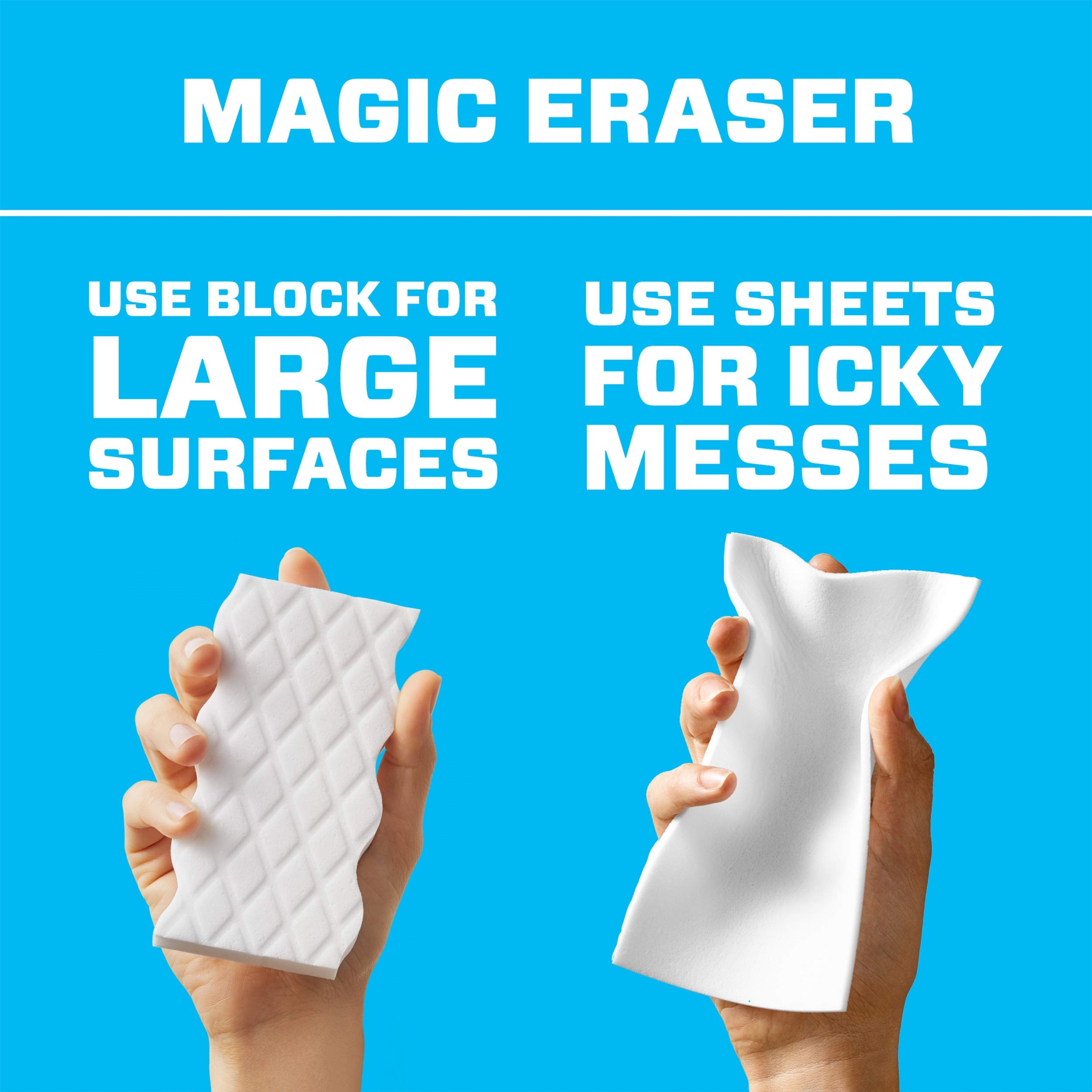 Mr. Clean Magic Eraser Cleaning Sheets, 3 Packs of 16 Sheets, 48 Count by Mr. Clean (Image #2)