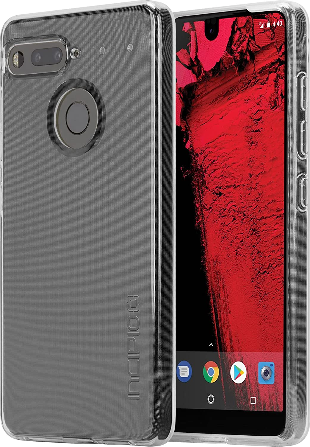 premium selection e6f92 53b00 Essential Phone Case, Incipio Essential PH-1 Case NGP Pure Shockproof Ultra  Thin Slim Clear TPU Polymer Shock-Absorbing Cover - Clear