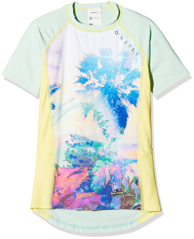 /con protecci/ón UV Camiseta O Neill ni/ña Zuma Beach S//Slv Skin Kiama/