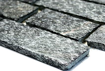 Lampada a mosaico mosaico piastrelle brick di rete con quarzite