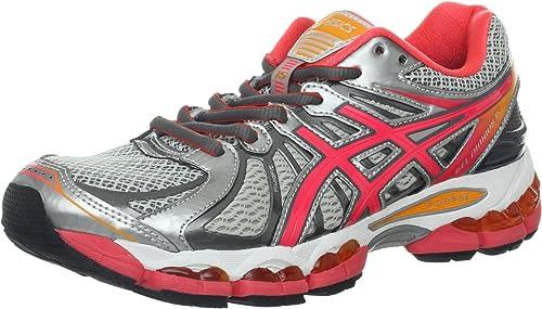 ASICS Women's Gel Nimbus 15 Running Shoe, LightningHot