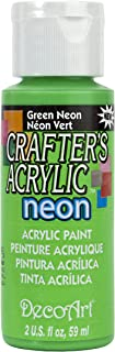 product image for Crafter's Acrylic All Purpose Paint 2 Ounces-Green Neon
