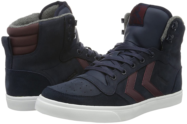 Hummel Sneaker Unisex-Erwachsene Stadil Winter Sneaker Hummel High-Top Blau (Total Eclipse) af3e01