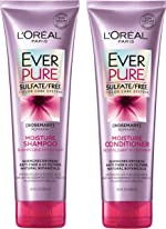 L'Oréal Paris EverPure Moisture Shampoo & Conditioner Kit for Color-Treated Hair,