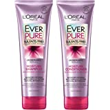 L'Oreal Paris EverPure Moisture Shampoo & Conditioner Kit for Color-Treated Hair, 8.5 Ounce, Set of 2