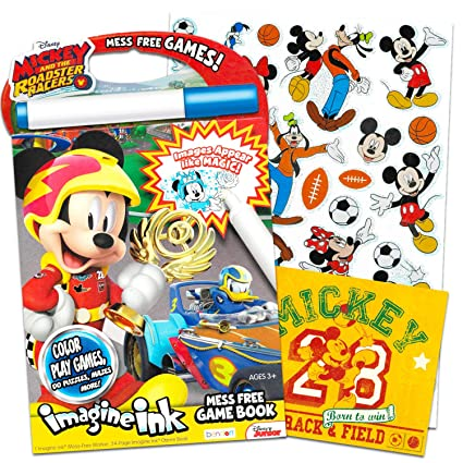 Amazon Com Disney Mickey Mouse Clubhouse Imagine Ink Coloring Book