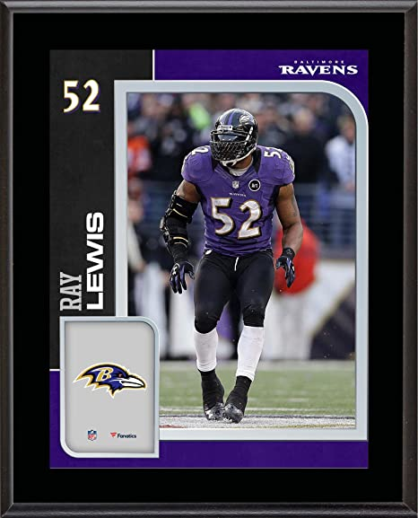 new product 4c4a0 3ccae Amazon.com: Ray Lewis Baltimore Ravens 10.5