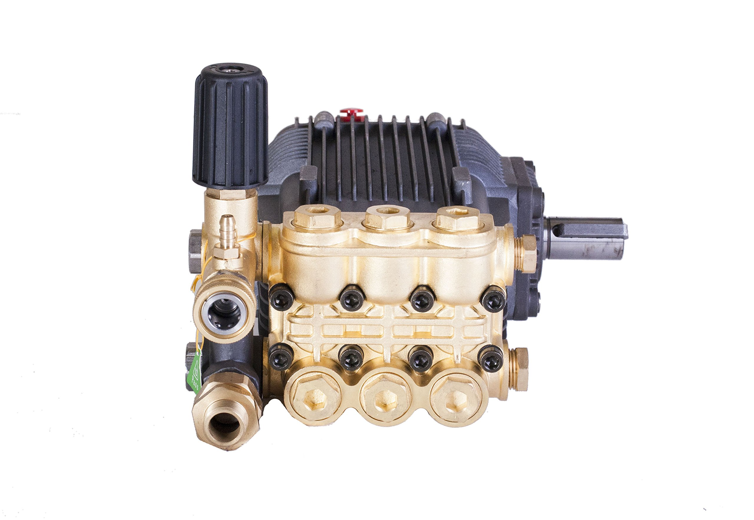 Pressure Power Washer Replacement Pump Solid Shaft 24 mm Belt Drive 3600 PSI by Canpump (Image #4)