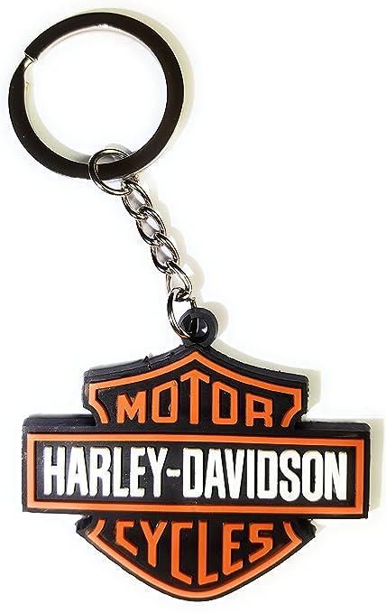 Llavero oficial Harley Davidson, Moto Chopper USA: Amazon.es ...