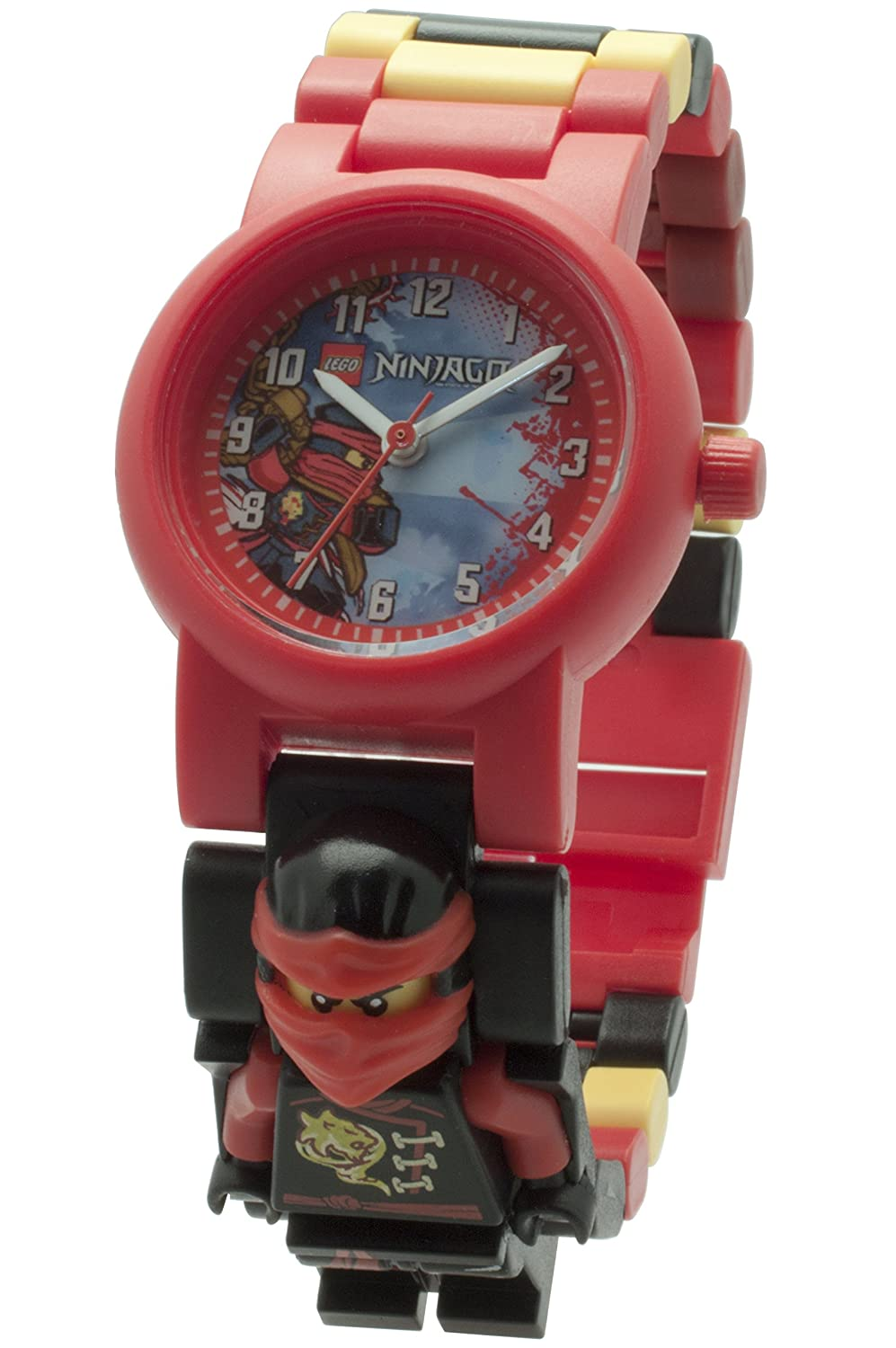 Amazon.com: LEGO toy watch choose a ninjago character link watch Kai: Toys & Games