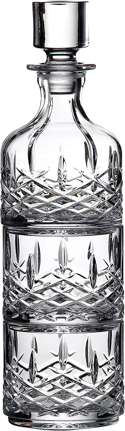Marquis Markham Stacking Decanter & Tumbler Set /2, by Waterford Crystal ,