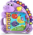 LeapFrog Dino's Delightful Day alphabet Book, Purple