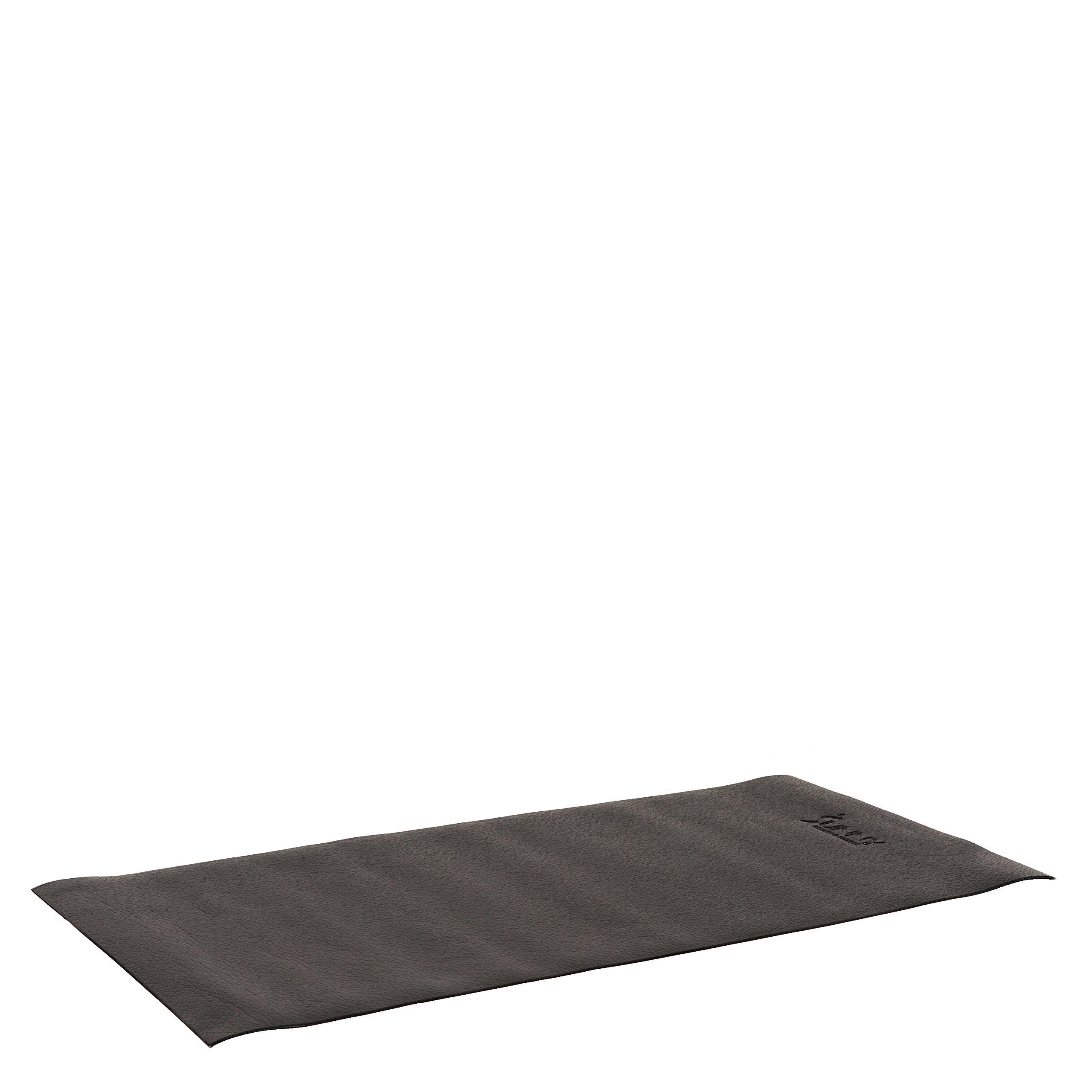 Sunny Health & Fitness No. 083 Fitness Equipment Floor Mat, Black, 4' x 2'