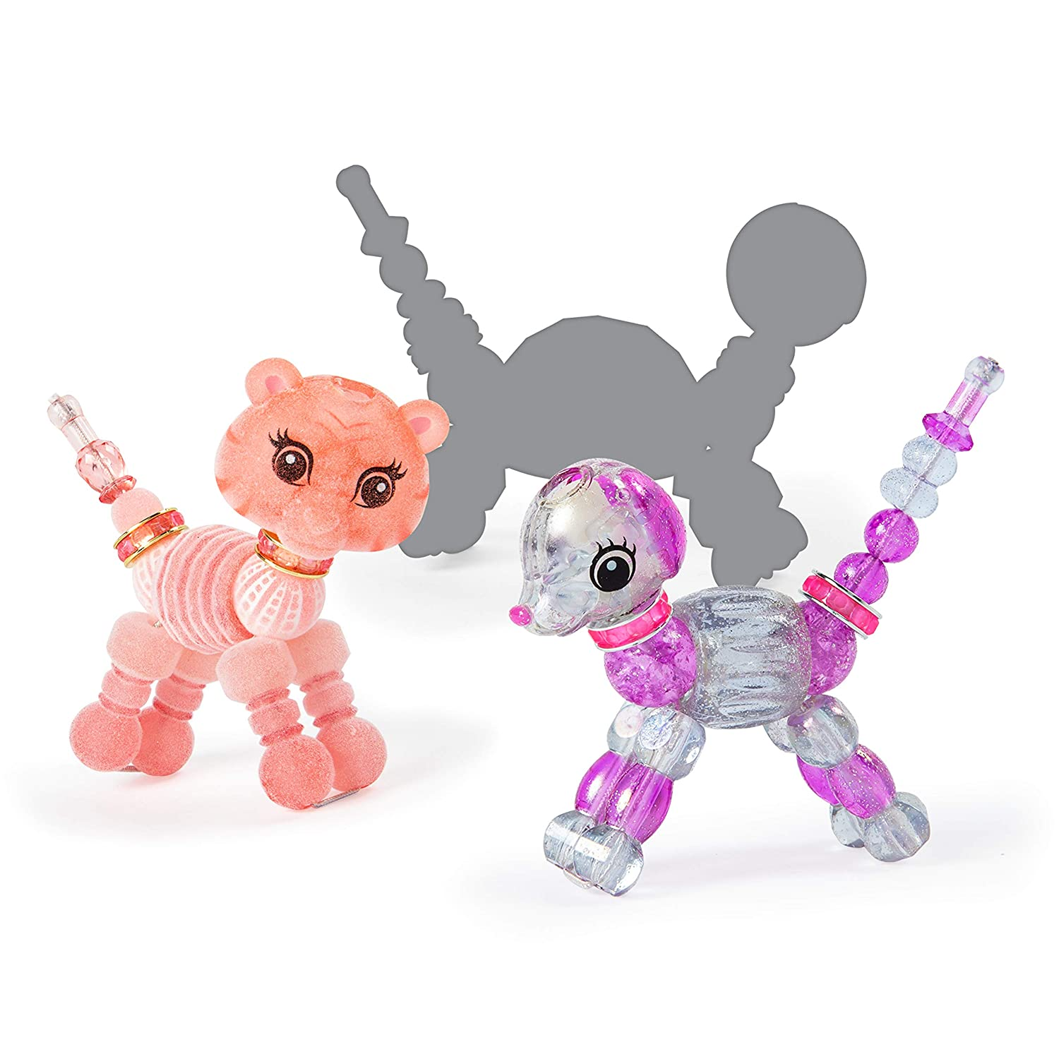 Sugarpie Llama and Surprise Collectible Bracelet Set for Kids Spin Master 20104394 Series 2 3-Pack Skyley Flying Unicorn Twisty Petz