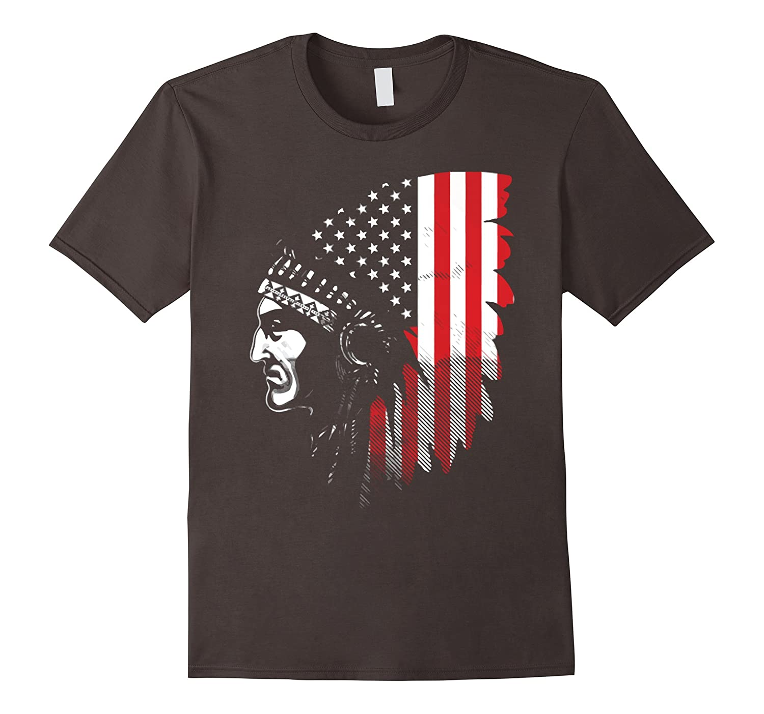 Native American Indian Chief T-Shirt - Goatstee
