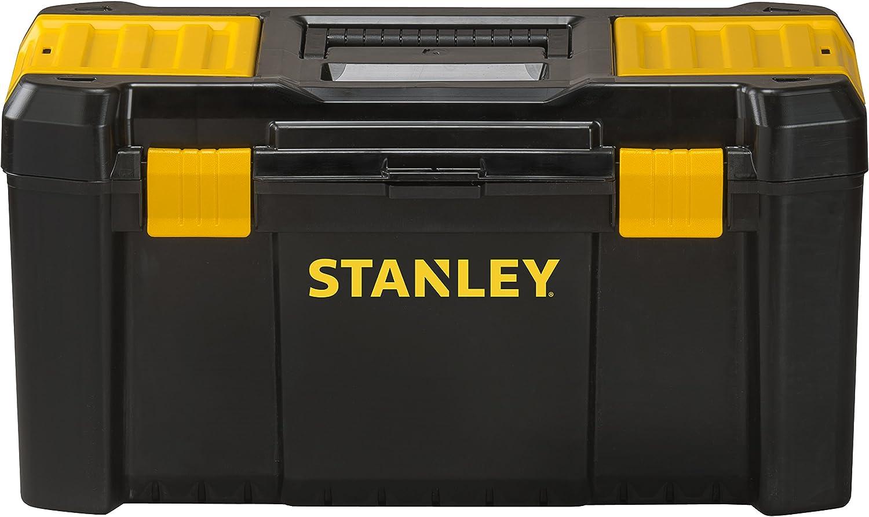 STANLEY STST1-75520 - Caja de herramientas de plastico con cierres de plastico, 48 x 25 x 24 cm