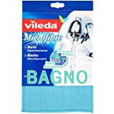 Vileda - 123399 - Lavette Spéciale Salle de Bain Micro & Eponge