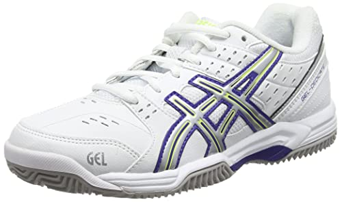 ASICS Gel Dedicate 3 Clay White/Royal Blue/Silver Donna Scarpe da tennis