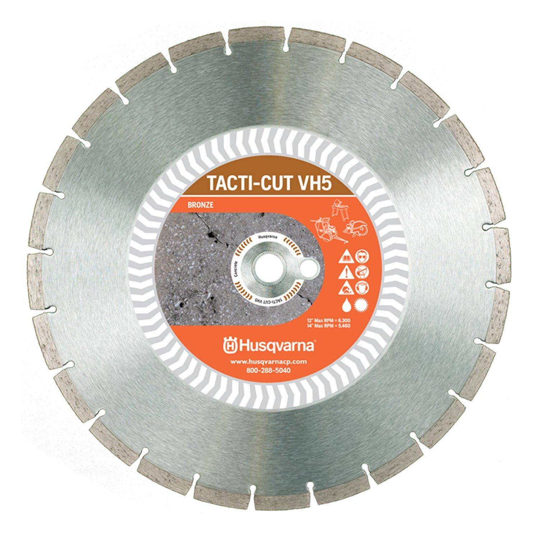 Husqvarna Construction Products 542774463 14 Inch by .118 by 1 Drive Pinhole 20mm B VH5 High Speed Diamond Blade