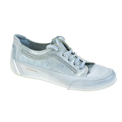 8caf781fe45c9c Candice Cooper Damen Sneaker Leder Silber