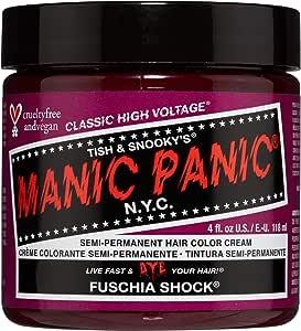 Manic Panic - Fuschia Shock Classic Creme Vegan Cruelty Free Semi-Permanent Hair Colour 118ml