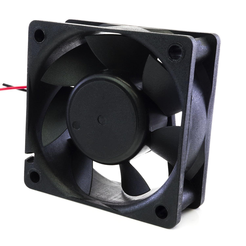 Maker Girl USA DC Case Fan Brushless 60mm x 60mm x 15mm 24V Quiet Output 6015