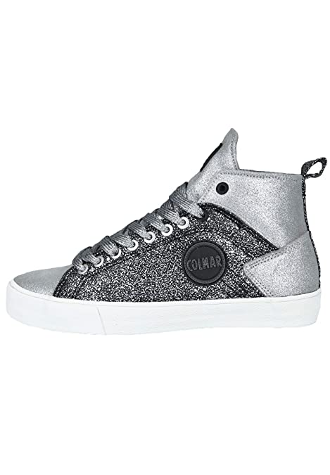 Colmar Sneaker da Donna Durden Show Glitter, Argento