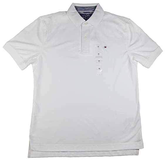 6b75576da71b49 Image Unavailable. Image not available for. Color  Tommy Hilfiger Mens  Interlock Polo ...