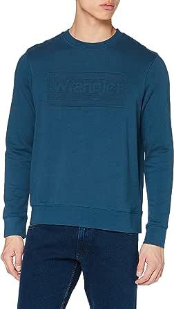 Wrangler Men's Tonal Logo Sweat Sweater